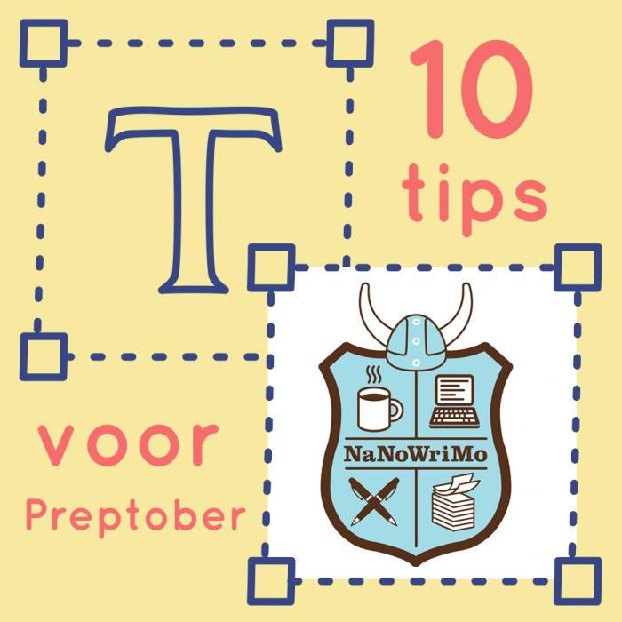 10 tips voor Preptober (NaNoWriMo)