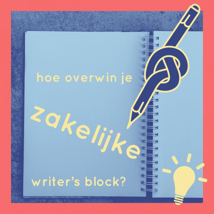Hoe overwin je writer's block bij zakelijke teksten?
